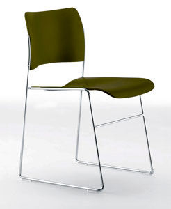 The Original Classic 40/4 Plastic Stacking Chair