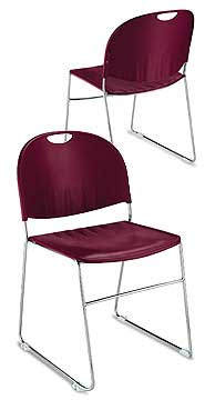 And Back Offer Comfort Style While The Sy Solid Steel Frame Provides Plenty Of Support Year After Stack Up To 30 Chairs For E Saving